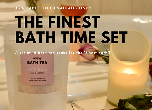 The Finest Bath Set