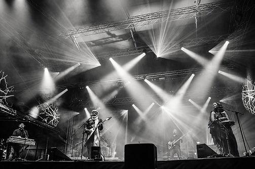 Mat Mirol in Czech Republic (Festival V ulicich - Ostrava) with Kel Assouf
