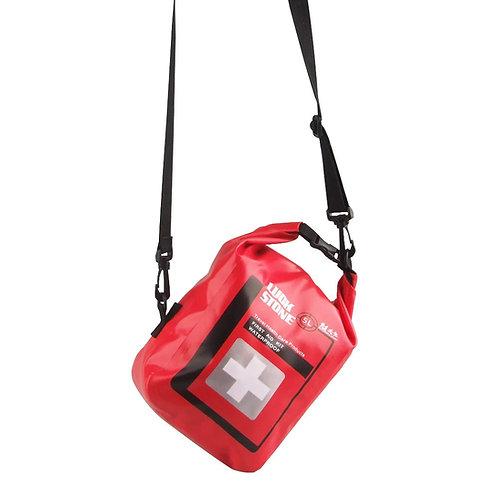 500D PVC夾網布 5L防水急救袋(配肩帶)