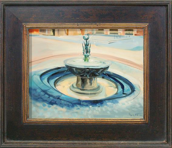 Gaillac fountain