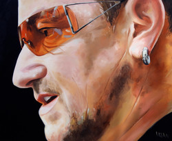 Bono side view larger