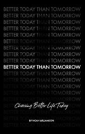 Better Today Than Tomorrow Book Cover-Fr