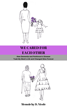 WE CARED FOR EACH OTHER official front c