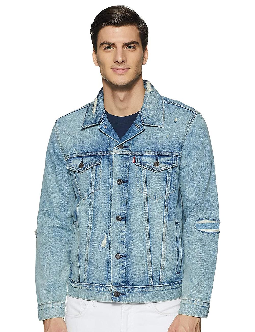 Denim Jackets For Men: 26 Jeans Jacket Outfit Ideas