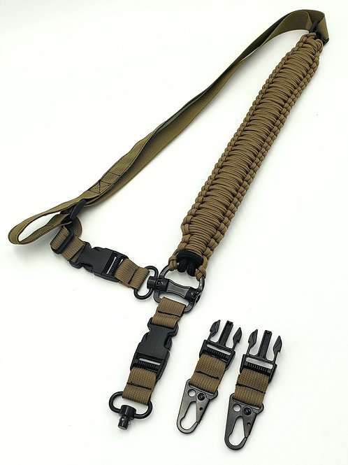 The Master Gunner – a Tactical Sling TOUGH as YOU are. 1 and 2 Pt