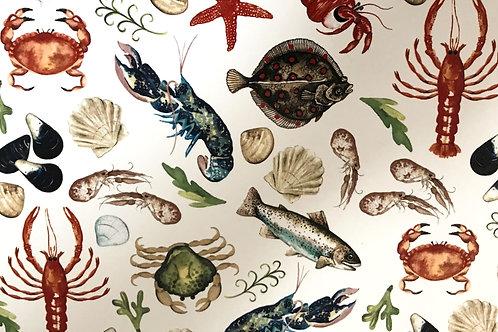 Sealife Sheet 21cm x 30cm