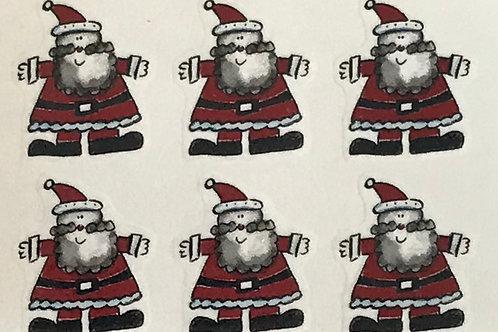 Santas (set of 6)