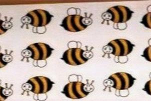Cartoon Bees (SET OF 20)