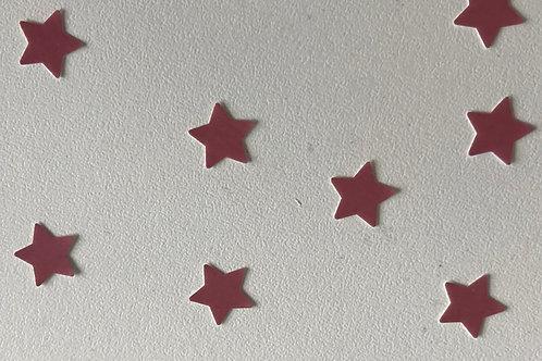 Ten Individual Star Decals