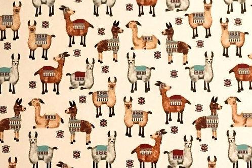 Llama Sheet 21cm x 30cm