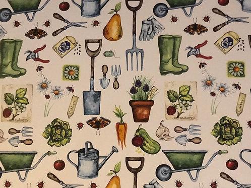 Garden Sheet 21 x 30cm