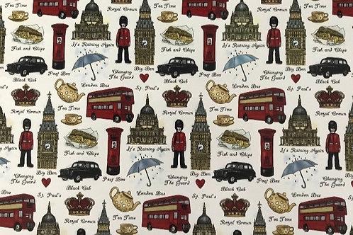 London Sheet 21cm x 30cm