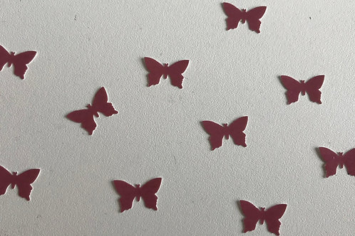 Ten Individual Butterfly Decals