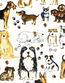 Dog Sheet 21cm x 30cm