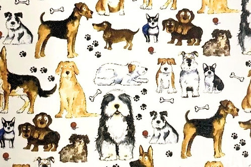 Dog Sheet 21cm x 30cm