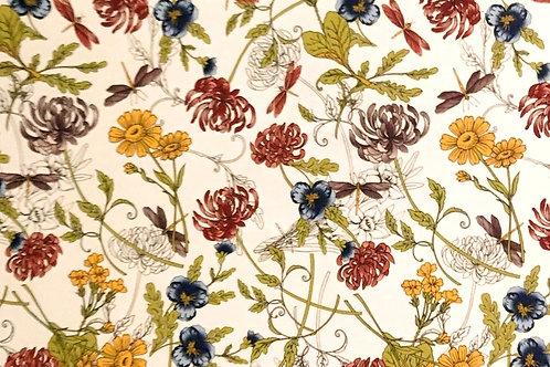 Mixed Flower Sheet 21cm x 30cm
