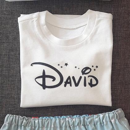Camiseta personalizada NOMBRE y NÚMERO o estampación