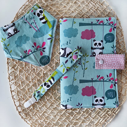 Pack bebe pandas