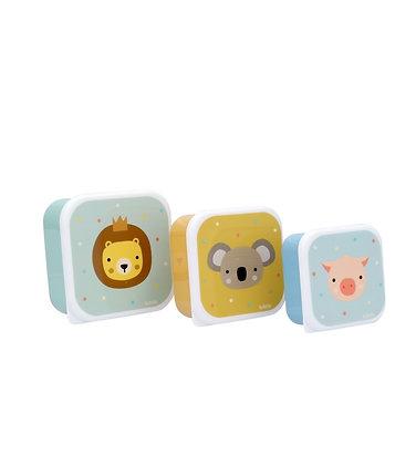 3 Cajitas Lion