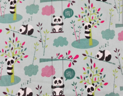 Pandas columpio