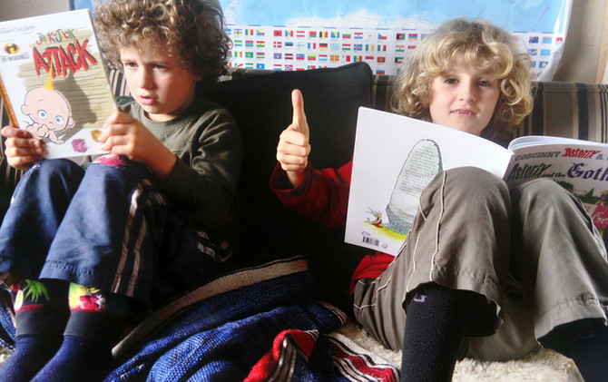 Thumbs up for Books
