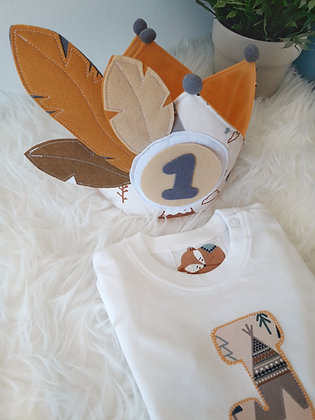 Conjunto CORONA CON 3 NUMEROS y camiseta