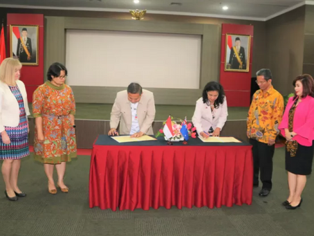 """Diaspora Indonesia, Home Ministry Sign MoU on """"sister city"""""""