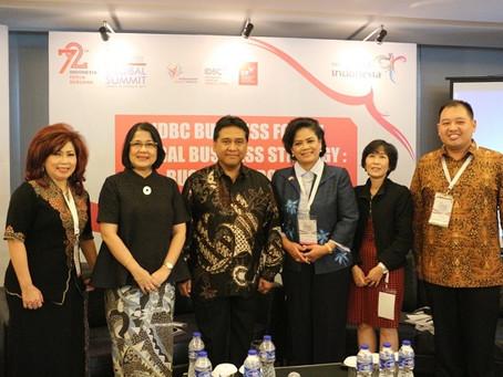 Dirjen PEN sebagai Narasumber IDBC Business Forum