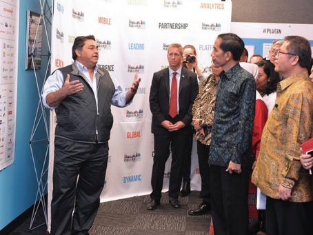 President Joko Widodo Visits at Silicon Valley