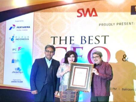 Presiden IDBC Fify Manan Terpilih Sebagai CEO Terbaik dalam Pengembangan Pasar Dunia - Majalah SWA