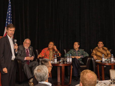 Luncheon with Indonesian Ministers at Silicon Valley