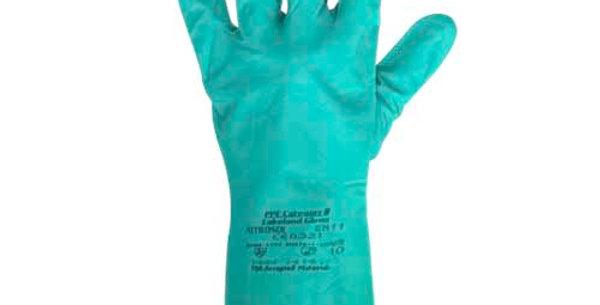 Guante Nitrosol Verde LK7311RD-10