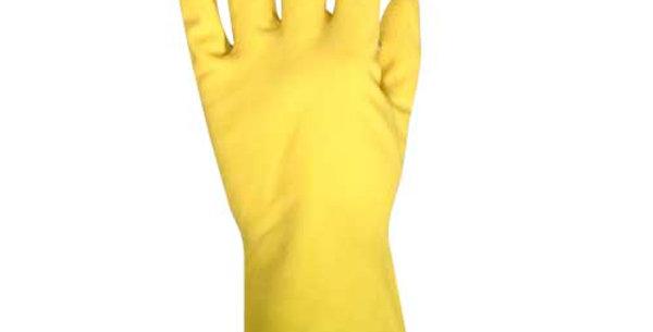 Guante Látex amarillo con forro aterciopelado ME5250L