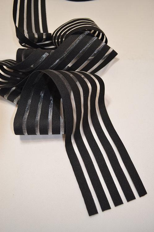 Black and Clear Elastic