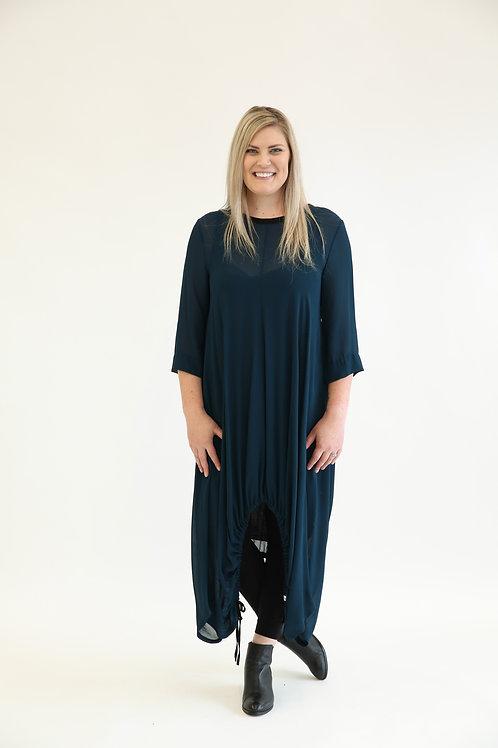 deeanne hobbs - CAUGHT IN IT DRESS PETROL  DHSW2114