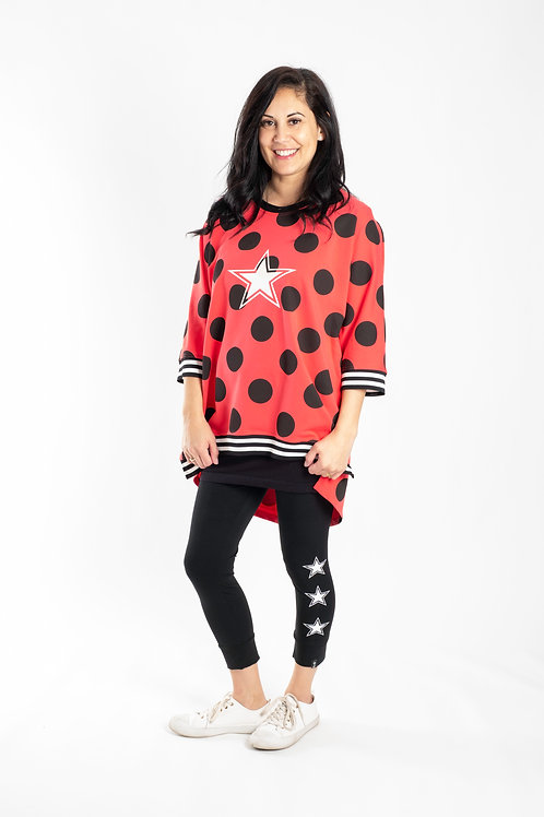WATERMELLON SPOT SUMMER SWEATSHIRT - JSS2025