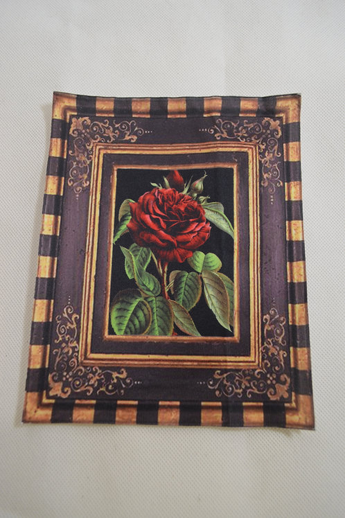 Iron on Framed Rose Large #1016
