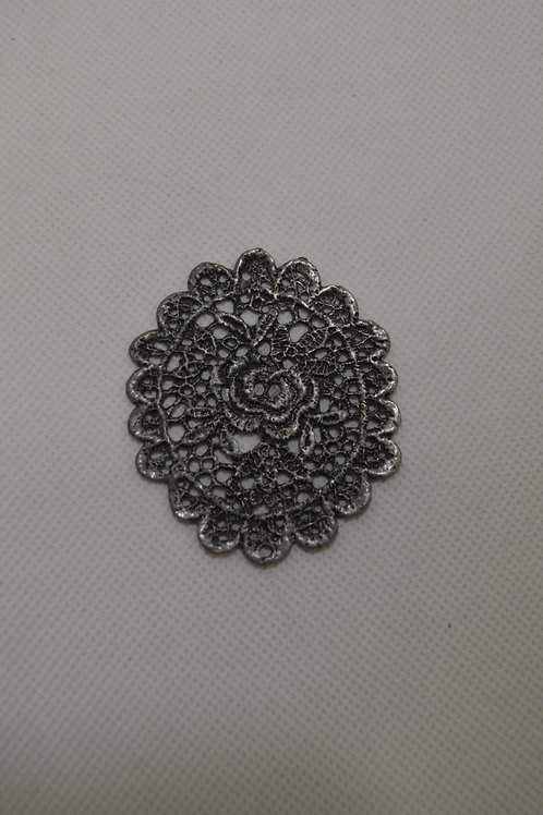 Metal lace - sew on