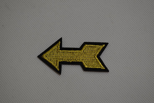 Iron on Gold Arrow