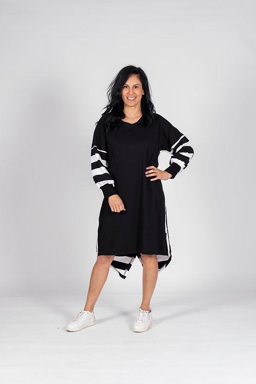 BLACK AND WHITE DRESS - JWF2
