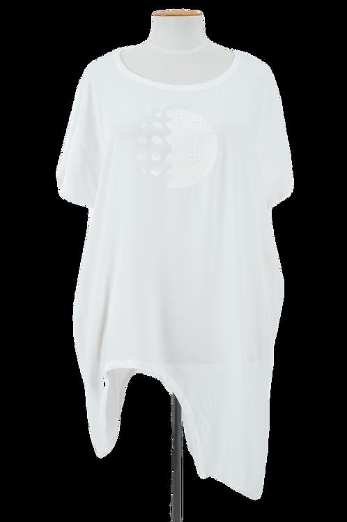 DEEANNE HOBBS - ARCH RIVAL TOP WHITE - DH2038