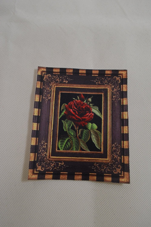 Iron on Framed Rose Small #1015
