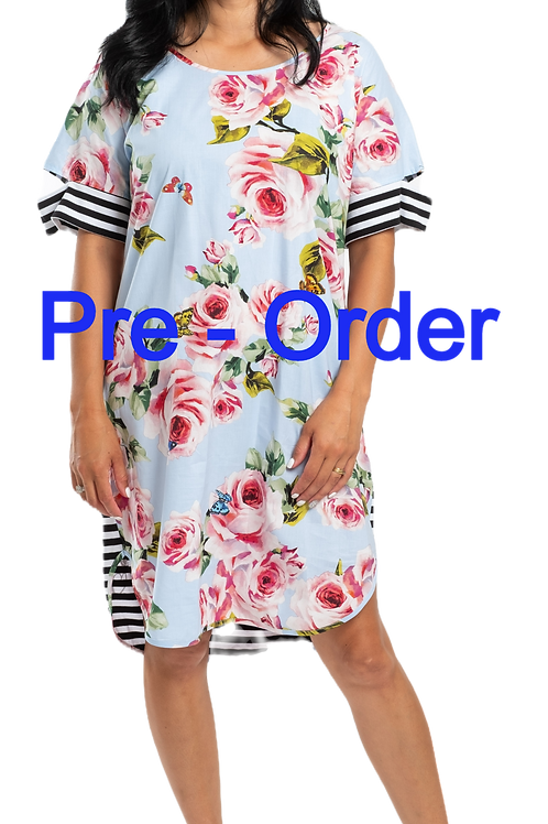 PRE ORDER - Start of Oct - TEA FOR TWO DRESS - JS2102