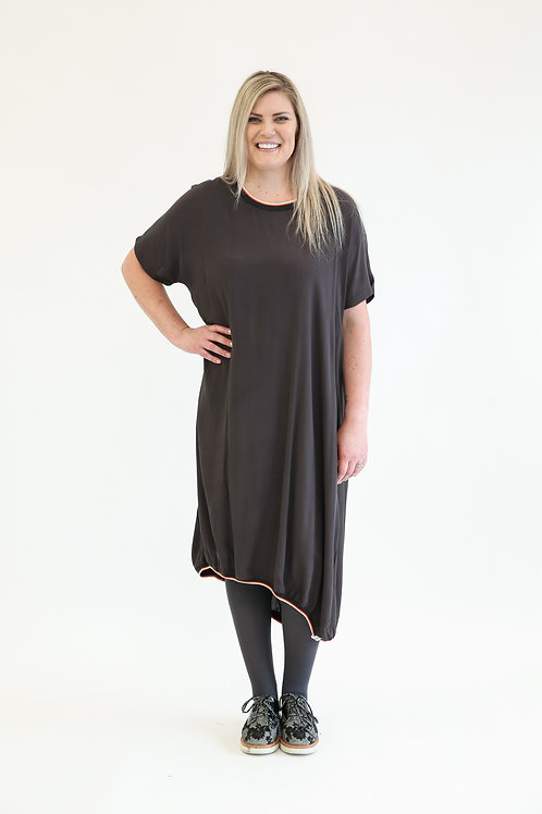 deeanne hobbs - PULL ME IN DRESS TAUPE  DHSW2130