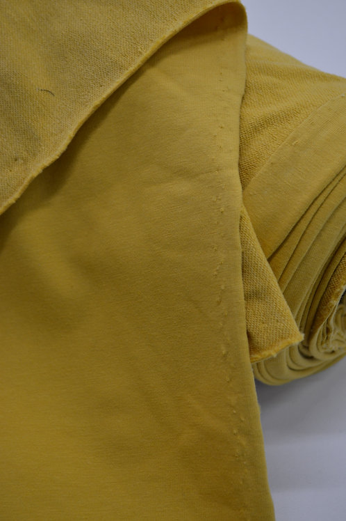 Burnt Yellow - 220g Sweat-Shirting - Best Quality