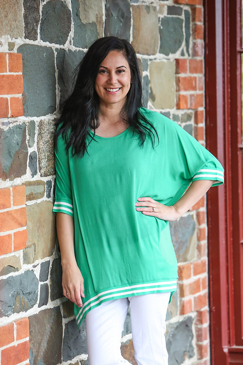 RELAX FIT TOP - GREEN - JS09