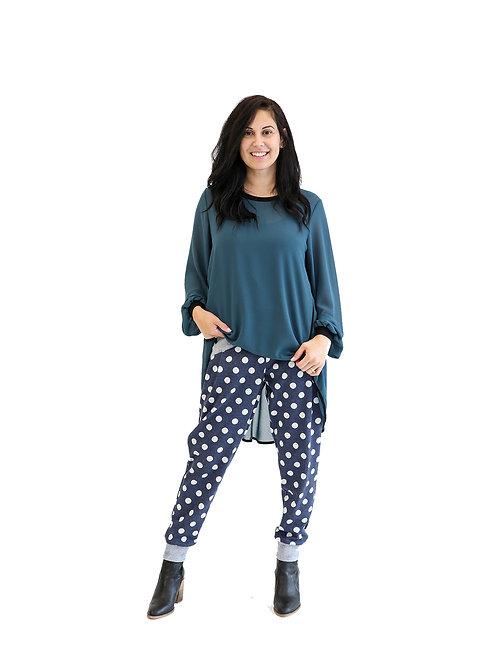 NEW SEASON - PANTS BLUE SPOT - JSW2122