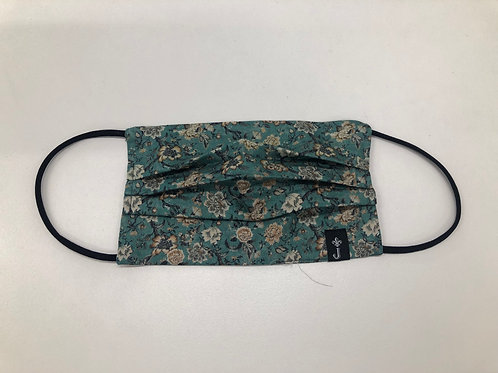 Face Mask - Vintage Green - Made in NZ