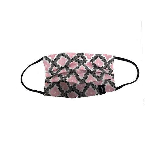 Diamond Pink Pattern Face Mask - Adult - Cotton