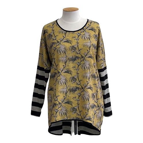 NEW - RELAX FIT -VINTAGE PRINT - TOP